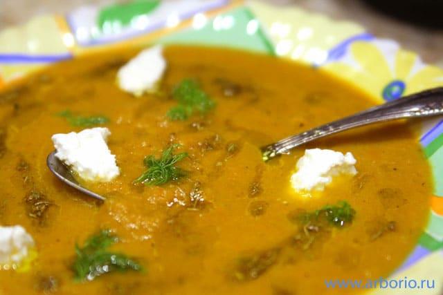 Суп-пюре из моркови и фенхеля - фото