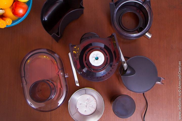 Соковыжималка Panasonic MJ-DJ01STQ - фото