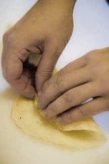 Блинчики с костным мозгом - фото