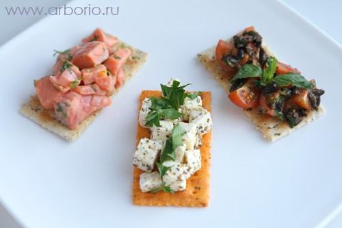 Бутерброды для вечеринки - фото