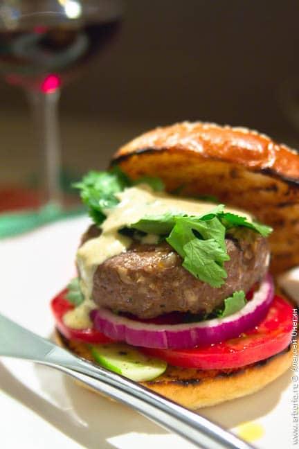 Лучший в мире бургер - фото