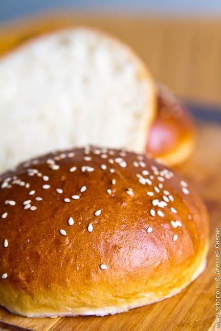 Булочки для гамбургеров - фото