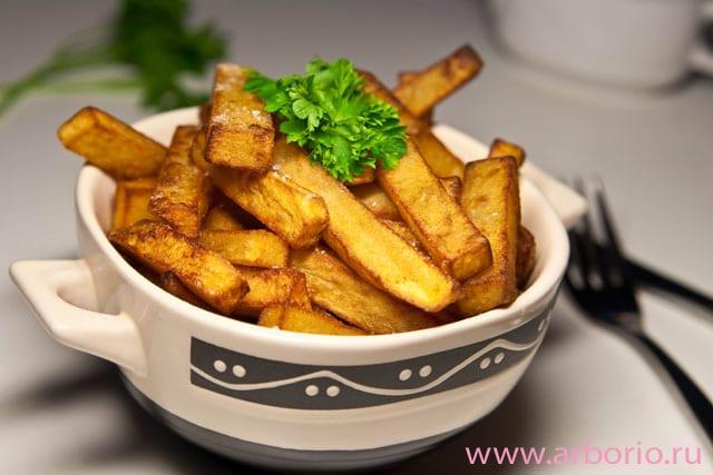 Домашний картофель фри - фото