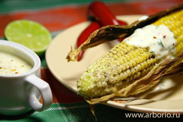 Кукуруза на гриле - фото