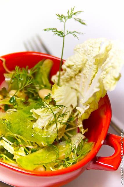 Салат из редьки - фото