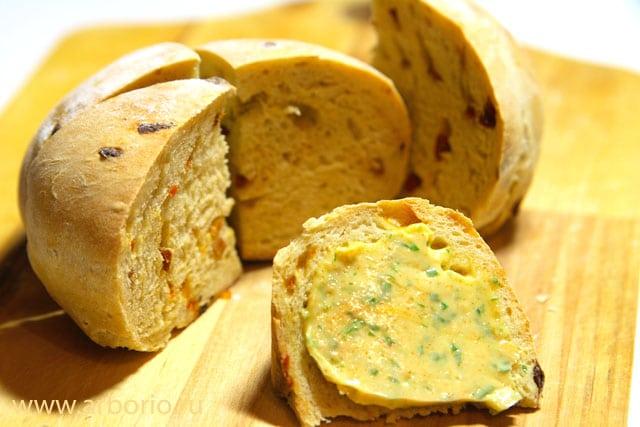 Хлеб на опаре - фото