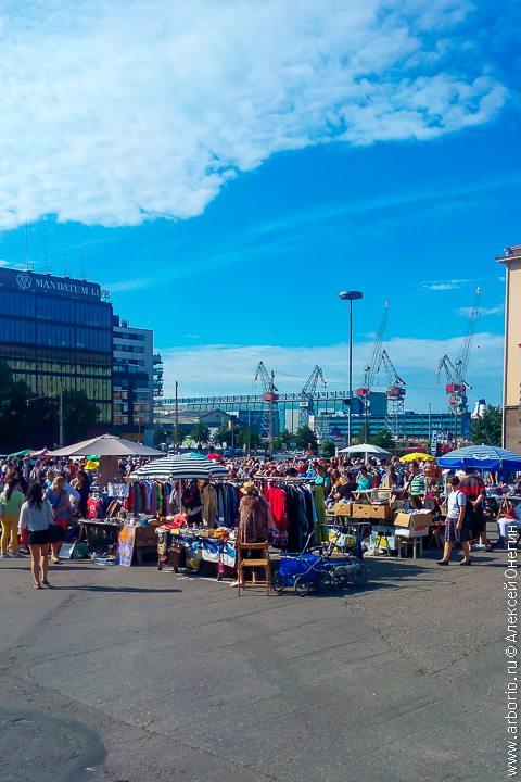 Рынок Hietalahden Kauppahalli - Хельсинки, Финляндия фото