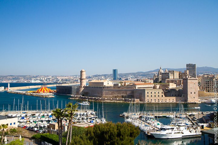 Один день в Марселе, Франция фото