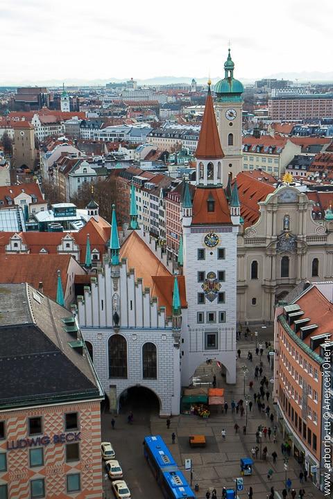 Столица Баварии - Мюнхен, Германия фото
