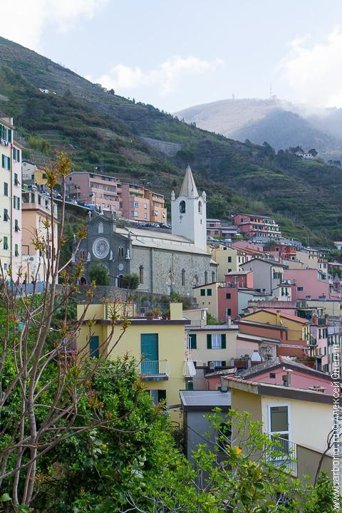 Риомаджоре - Чинкве-Терре, Италия фото
