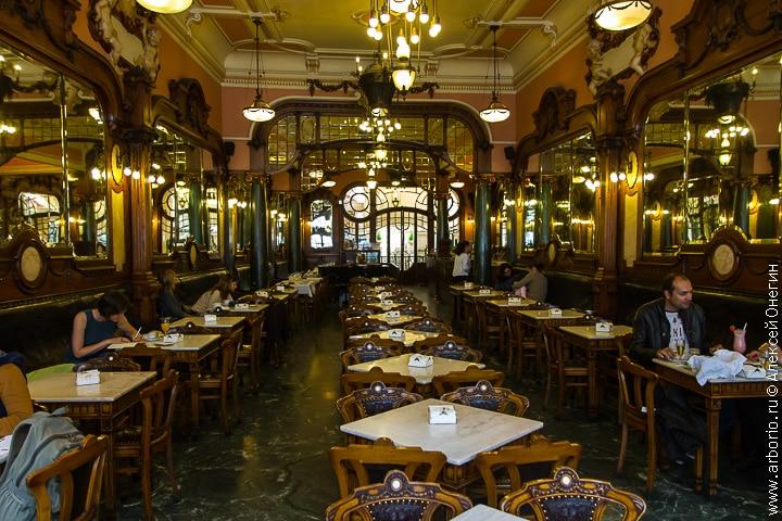 Кафе Majestic - Порту, Португалия - фото