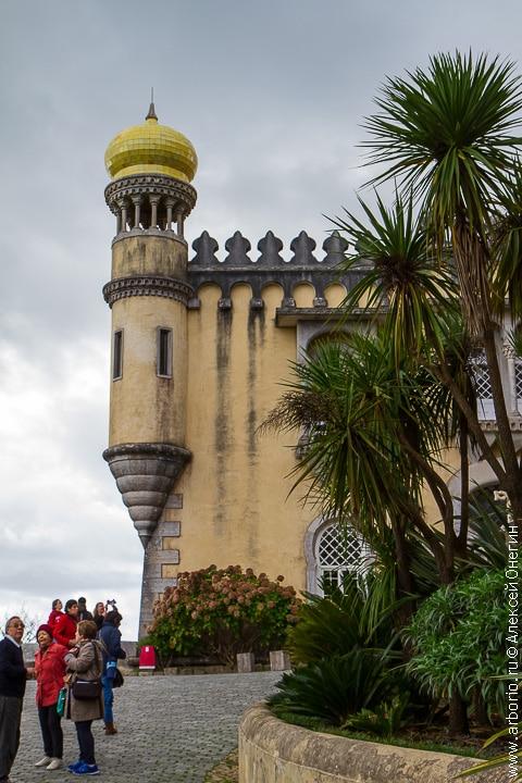 Дворец Пена - Синтра, Португалия фото