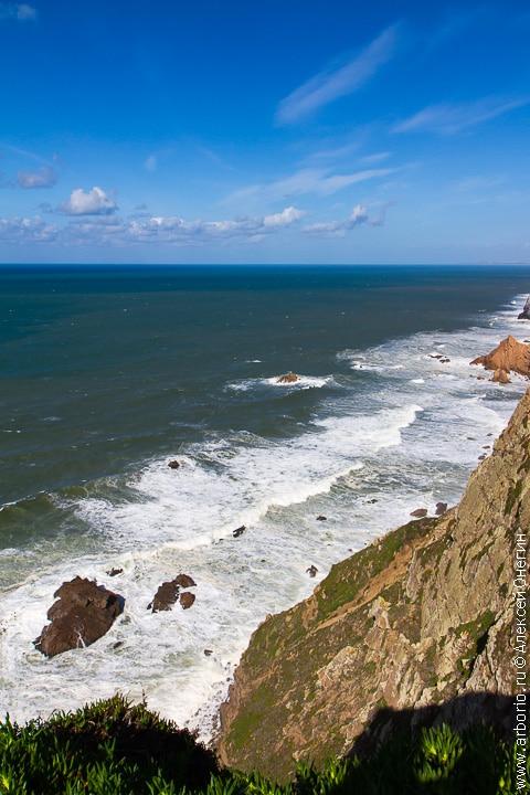 Край земли - мыс Рока, Португалия фото