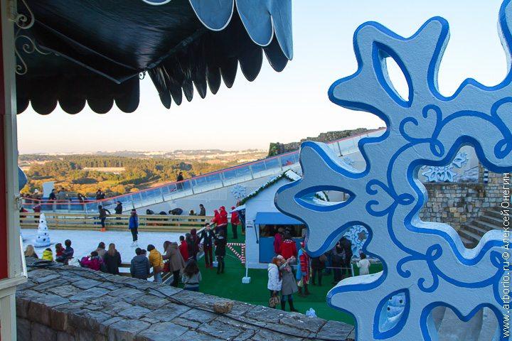 Рождественская ярмарка - Обидуш, Португалия фото