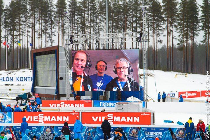 Биатлон в Контиолахти - Финляндия фото