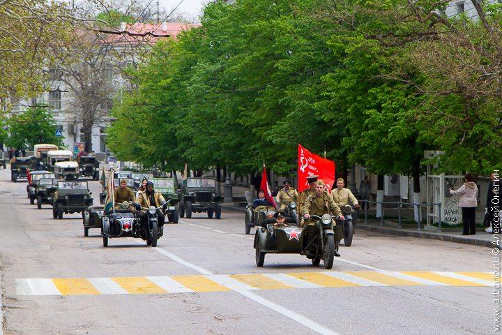 Репетиция парада Победы - Севастополь, Россия фото