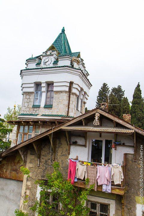 Набережная и крыши - Ялта, Россия фото