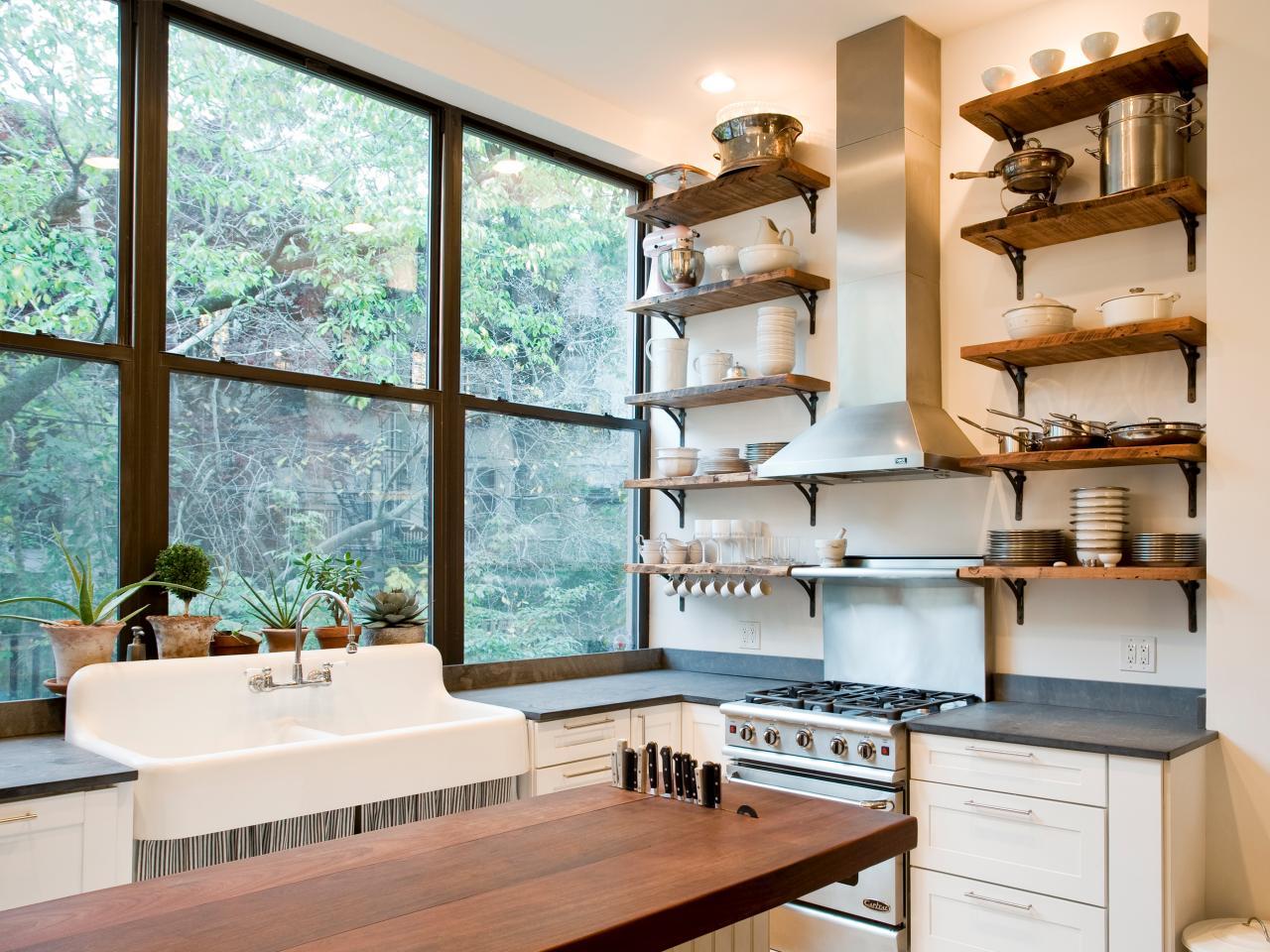 10 идей для маленькой кухни - фото