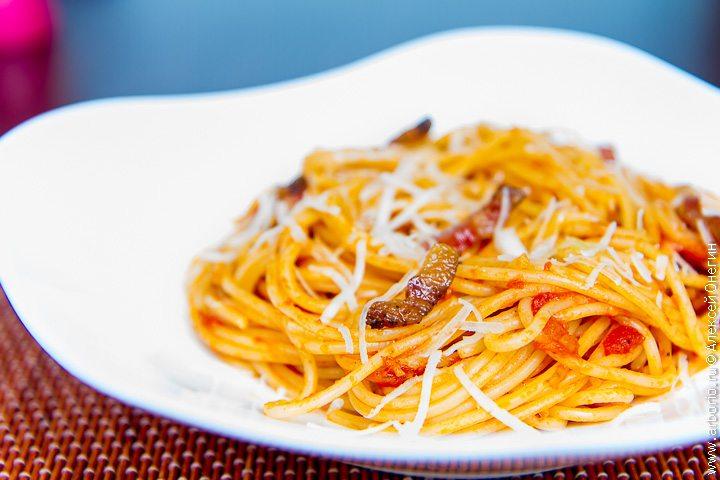 Спагетти аматричиана - фото