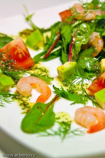 avocado shrimp salad Накрываем новогодний стол.
