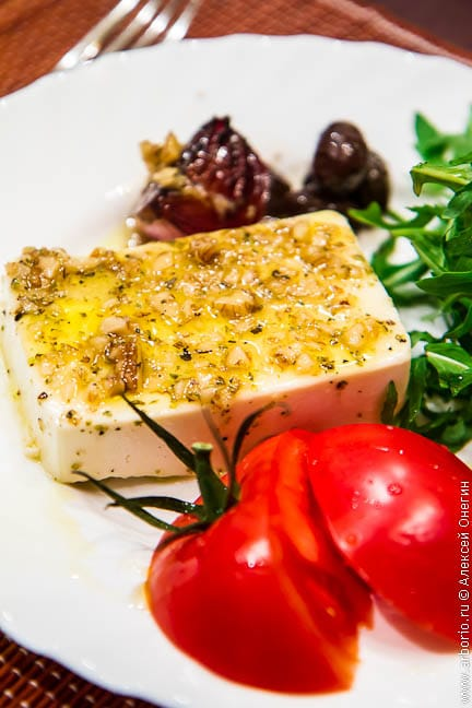 baked feta Запеченный сыр фета
