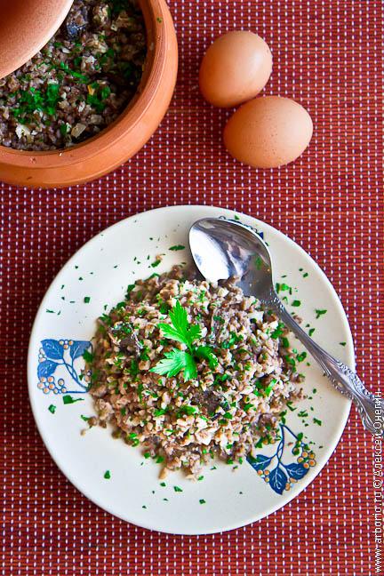 buckwheat porridge 2 Гречневая каша с грибами