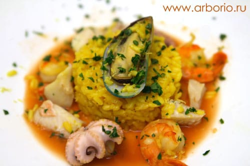seafood_risotto Ризотто с дарами моря.