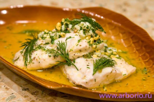 рыба кулинарные рецепты филе судака