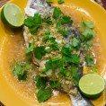 Рыба на пару на тайский манер