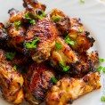 Куриные крылышки в соевом соусе с медом